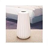 Vase artisanat en céramique décorations maison vase à fleurs sec vertical white ceramic