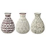 Vases Karine, Bloomingville, Multicolore, 3 pièces