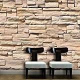 Walplus WM19023 imitation mur en pierre