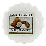 Yankee Candle 1173566E Tartelette en cire senteur Couverture souple Blanc