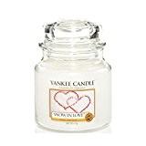 Yankee Candle 1249714E Bougie Parfumée L'Amour d'Hiver Blanc