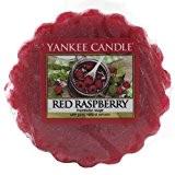Yankee Candle 1323192E Tartelette Parfumée en Cire Framboise Rouge Combinaison Rouge 5,8 x 5,5 x 2 cm 22 g