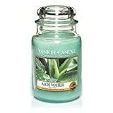 Yankee Candle 1332176E Bougie parfumée Eau d'Aloe vera 603 g en jarre Rouge