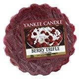 Yankee Candle 1342535E Tartelette Parfumée en Cire Trifle à Baie Combinaison Rouge 5,9 x 5,7 x 1,7 cm 22 g
