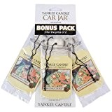 Yankee Candle (Bougie) - Christmas Cookie - Pack de 3 Jarres Désodorisantes pour Voitures