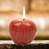 YOKIRIN® Bougie Créative Apple Modélisation Bougie Décorative Design Original - Petite Taille