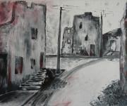 tableau architecture : Oradour sur Glane