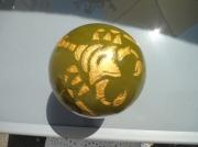 artisanat dart animaux science scorpion lampe lumiere : Lampe.Boule de Scorpion