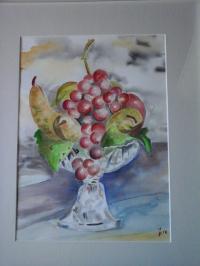 fruits dans une coupe