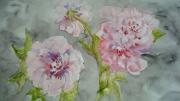 tableau fleurs pivoines : les pivoines