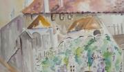 tableau paysages maison narbonne : maison en ville