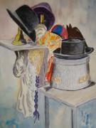 tableau nature morte chapeaux : les chapeaux