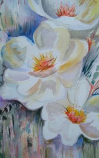 fruitier en fleur