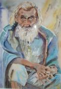 tableau personnages : vieil indien