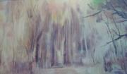 tableau paysages sous bois : sous bois