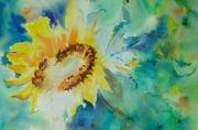 tableau fleurs tournesol : tournesol