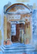 tableau paysages porte entree nar : vieille porte