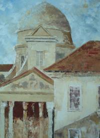 La Vieille Charité à Marseille huile