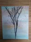 tableau paysages arbres : Arbre a voeux