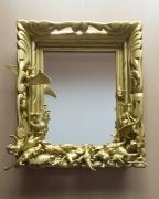 mixte animaux jouet miroir or antique : miroir ptérodactyle
