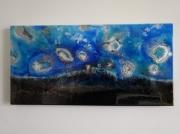 tableau scene de genre fond ocean corail ponte : ECLOSION