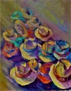tableau autres chapeaux vent mouvem couleur jaune rouge : chapeaux