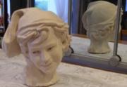 sculpture personnages bretagne saintbrieuc guigall sculpteur : Le rieur napolitain (2013)