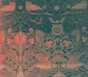art numerique architecture oiseau tapisserie motif reve : Bird
