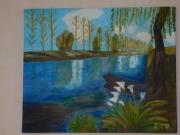tableau paysages : Les Marais Poitevin