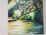 tableau paysages : La branche