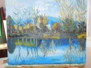 tableau paysages : Reflets dans l'eau