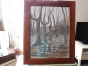 dessin paysages : Le sous bois
