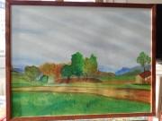 tableau paysages : La ferme