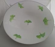 ceramique verre autres porcelaine coupe : coupe Ginkgo