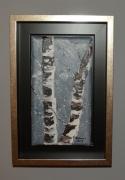 tableau paysages arbre hiver filet : Bouleau en hiver