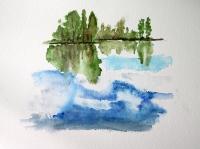 Le Ciel dans l'eau