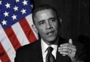 photo personnages usa obama black president : Barack Obama