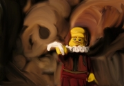 tableau personnages shakespeare poet theatre stage : Shakespeare Lego