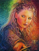 tableau personnages lagertha femme viking courage : Lagertha, Femme Viking
