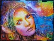 tableau personnages mythologie femme surrealisme incroyable : Helene de Troie