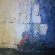 tableau marine bateau ocean : Soupir