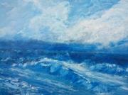 tableau marine ocean marine mer vague : Fugue