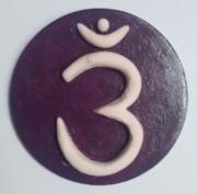 ceramique verre abstrait chakra spiritualite troisieme oeil : 6ième chakra = chakra du 3ième OEIL
