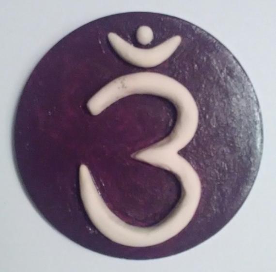 CéRAMIQUE, VERRE CHAKRA spiritualité troisième oeil Abstrait  - 6ième chakra = chakra du 3ième OEIL