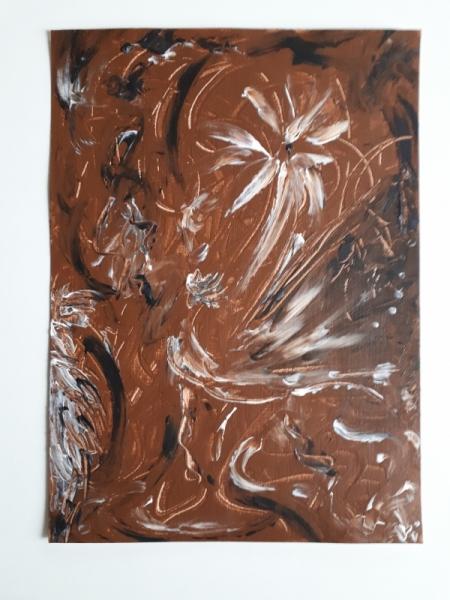 TABLEAU PEINTURE chocolat gourmandise plaisir moral Acrylique  - Déclinaison de chocolats !