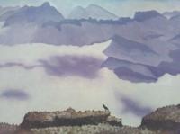 Montagnes violettes