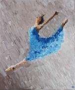 tableau scene de genre femme danse danseuse ballet : 1ère danseuse étoile