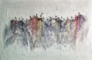tableau afrique benin cotonou aibatin : La foule