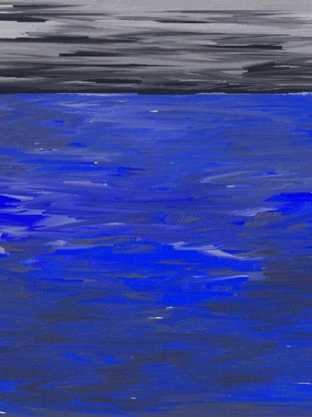 ART NUMéRIQUE Mer Nages Paysages  - Densité