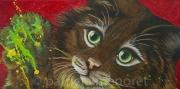 "tableau animaux chat felin animaux animal : "" SPLASH """